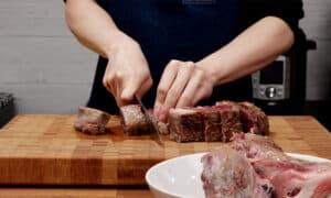 cut beef