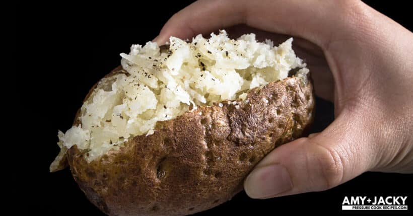 baked potatoes  #AmyJacky #InstantPot #recipe