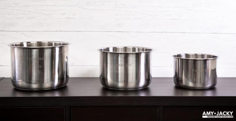 instant pot size comparison