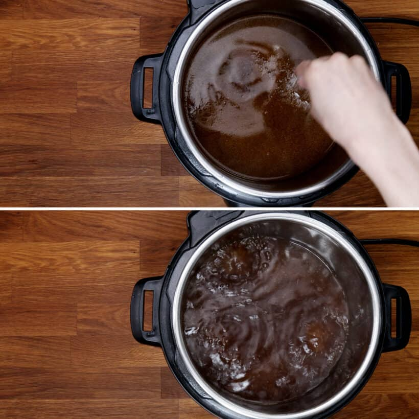 season beef noodle soup