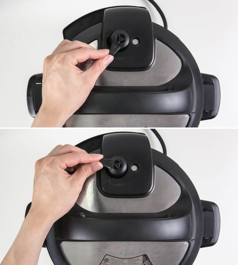 venting knob