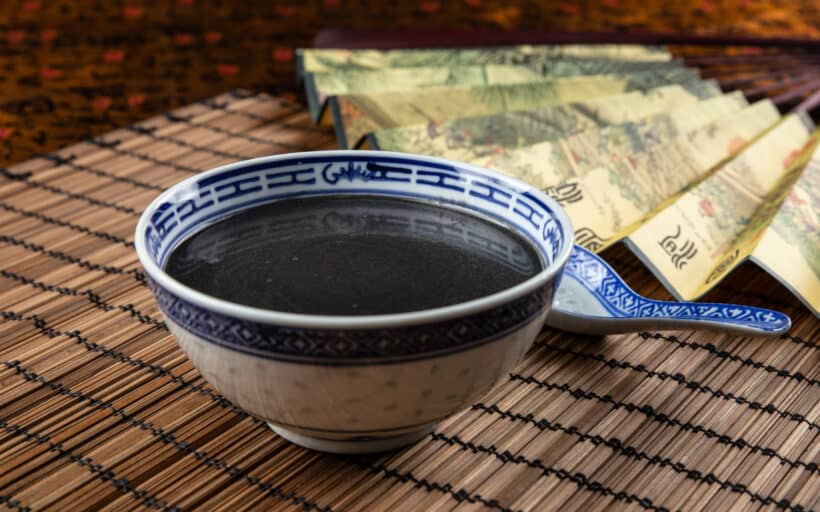 black sesame soup | black sesame soup recipe | 芝麻糊 | instant pot black sesame soup | chinese dessert | dessert recipes #AmyJacky #recipe #chinese #asian