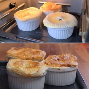 air fryer chicken pot pie