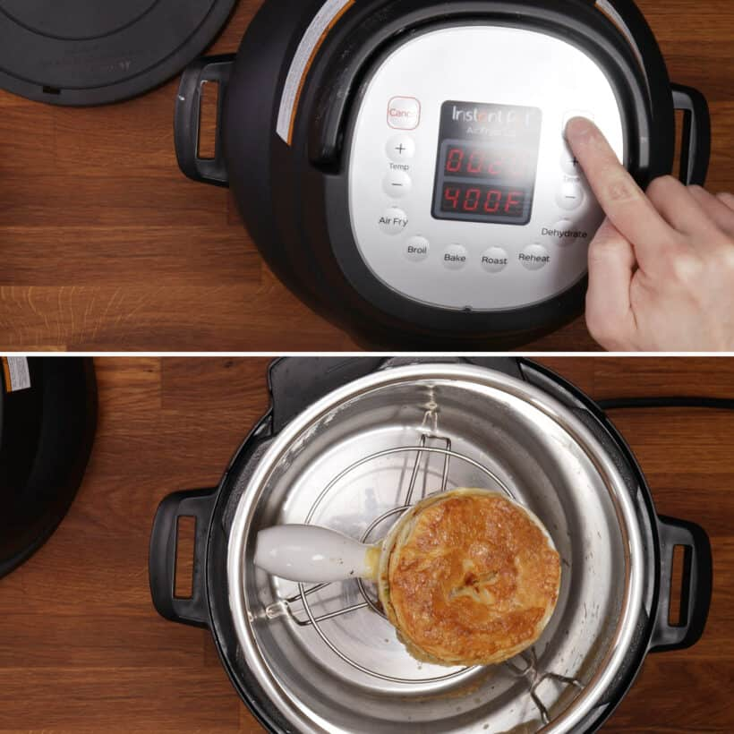 air fryer lid puff pastry