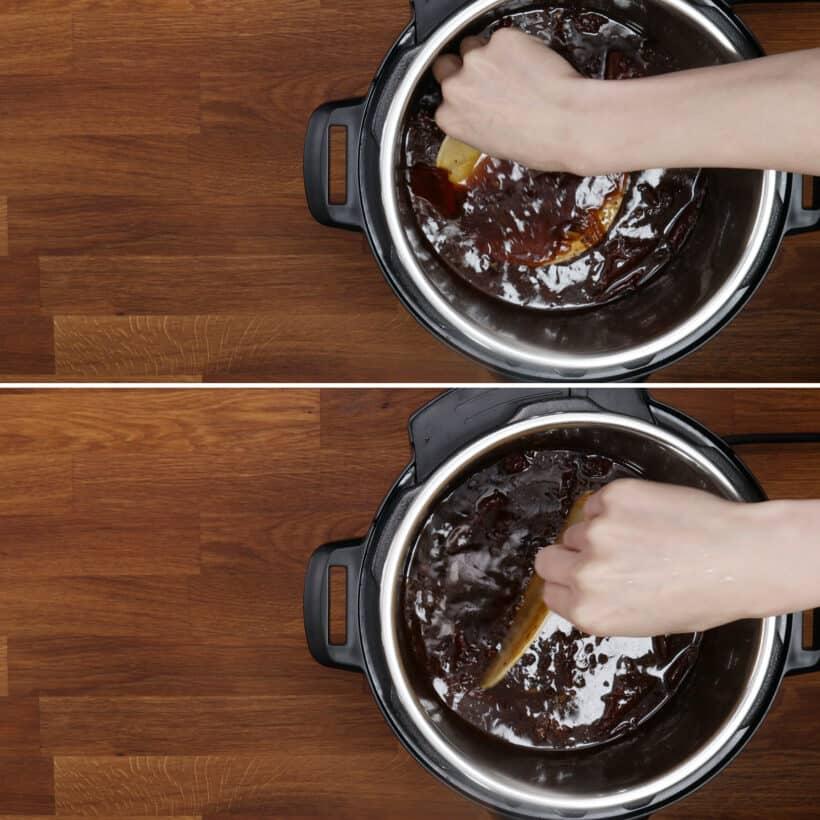 dip tortilla