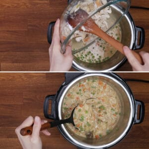 instant pot chicken pot pie recipe