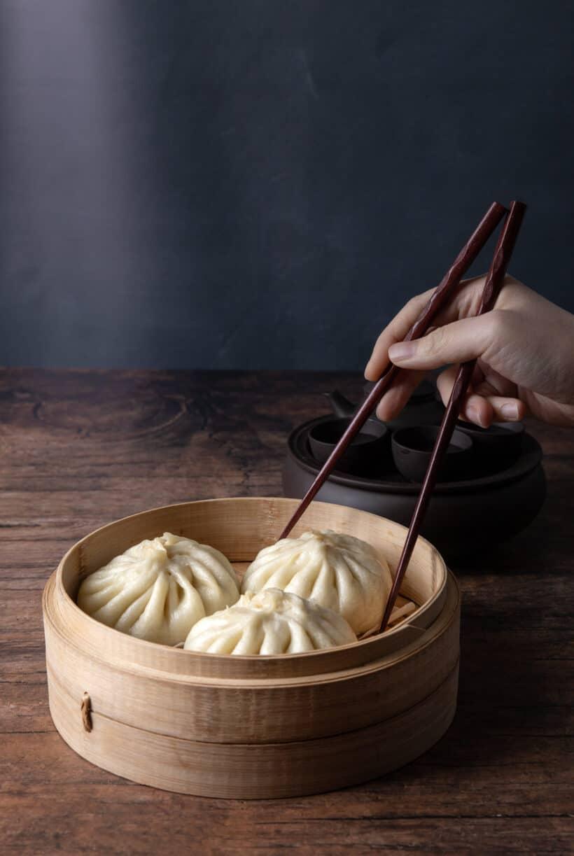 instant pot steamed buns | instant pot bao | bao buns | baozi | steamed buns | bao recipe | pork bun | chinese steamed buns  #AmyJacky #recipe #chinese