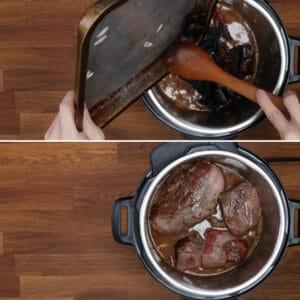 pressure cook birria