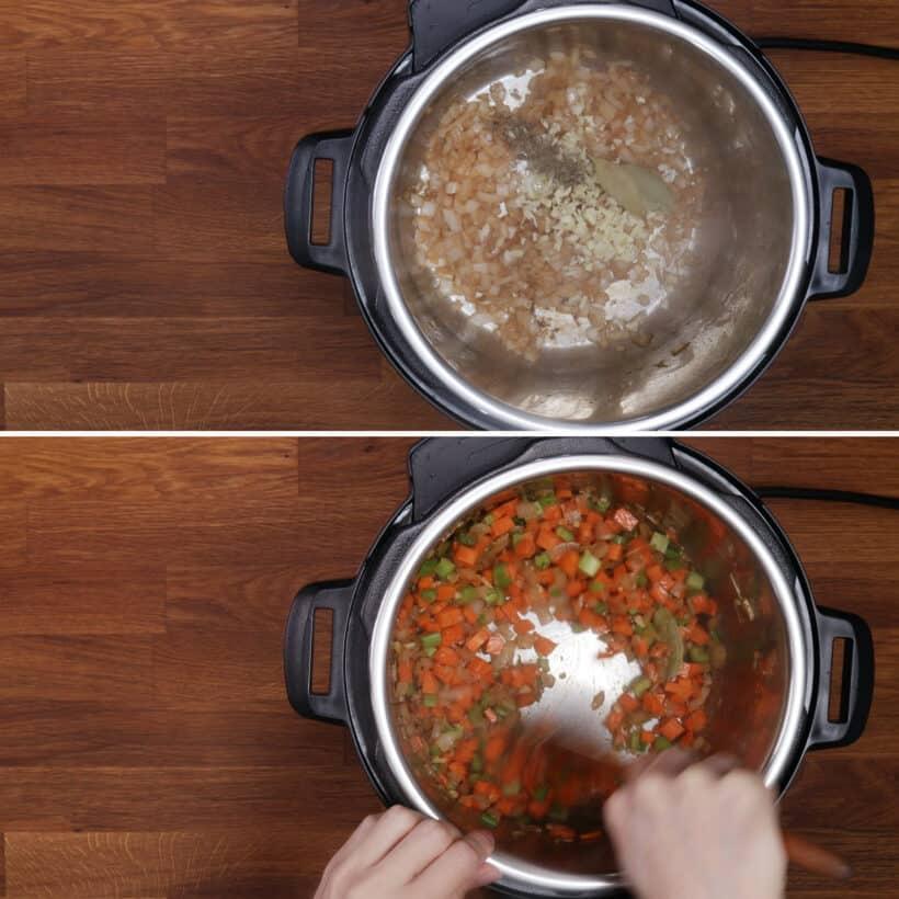 saute spices