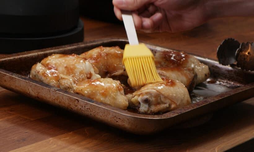 brush honey garlic sauce