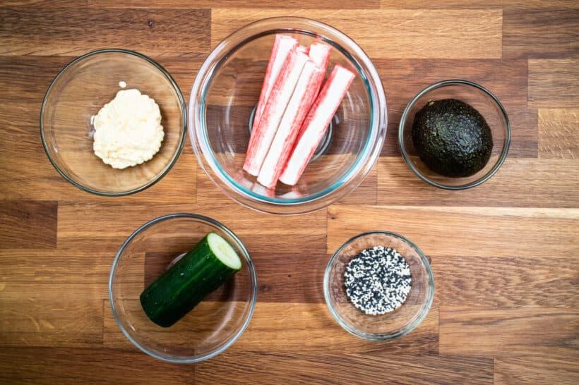 california roll ingredients