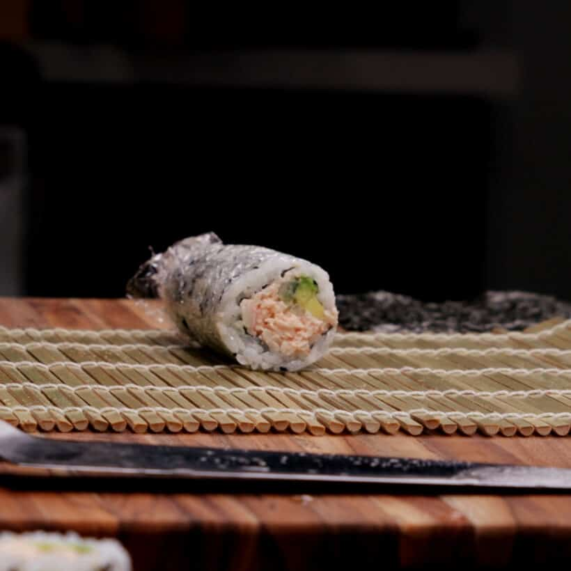 how to make california roll