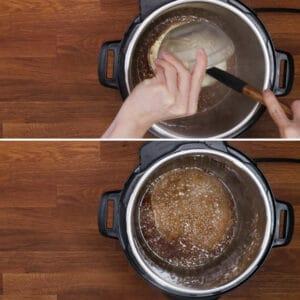 instant pot honey garlic sauce