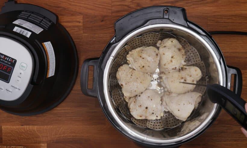 pressure cooker chicken thighs