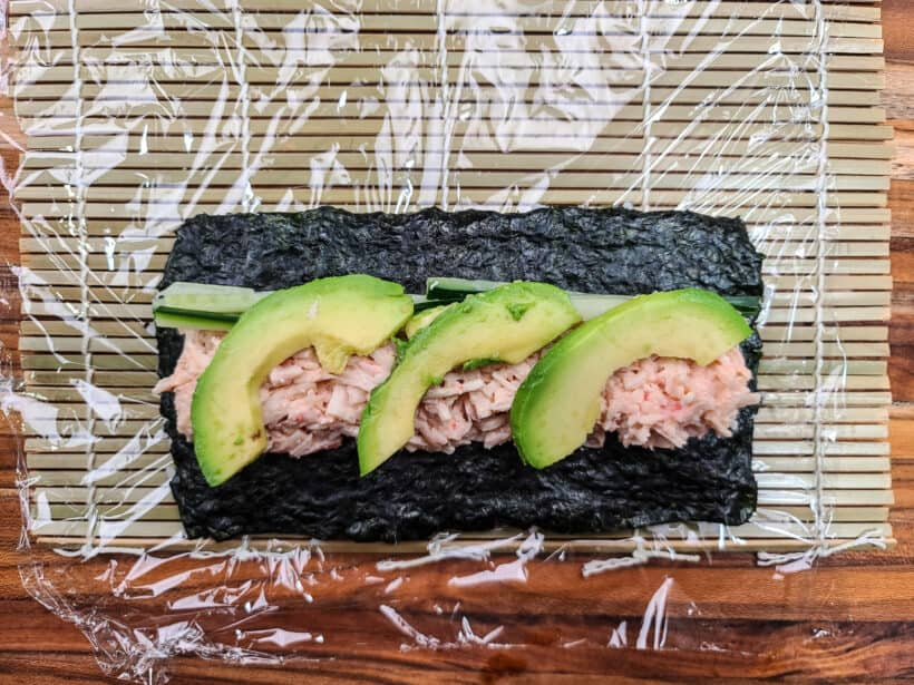 what's in a california roll