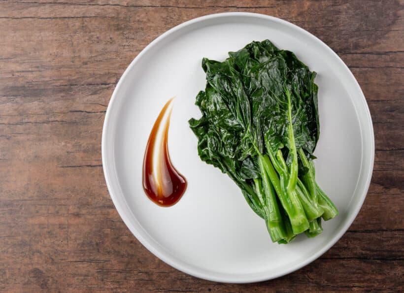 chinese broccoli | chinese broccoli recipe | chinese broccoli with oyster sauce | gai lan | gai lan recipe