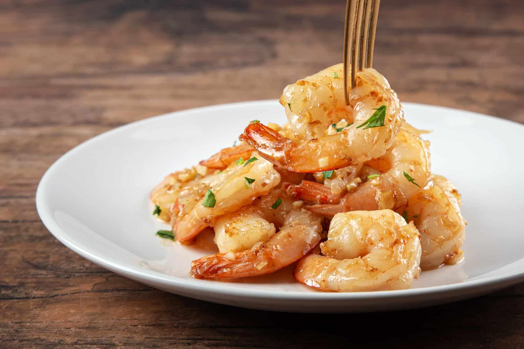 instant pot shrimp | shrimp recipes | frozen shrimp instant pot | shrimp in instant pot | garlic butter shrimp