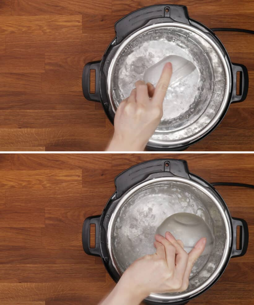 season cooking water