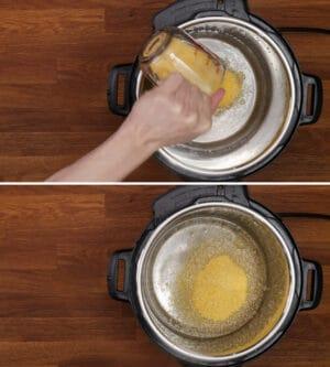 add polenta