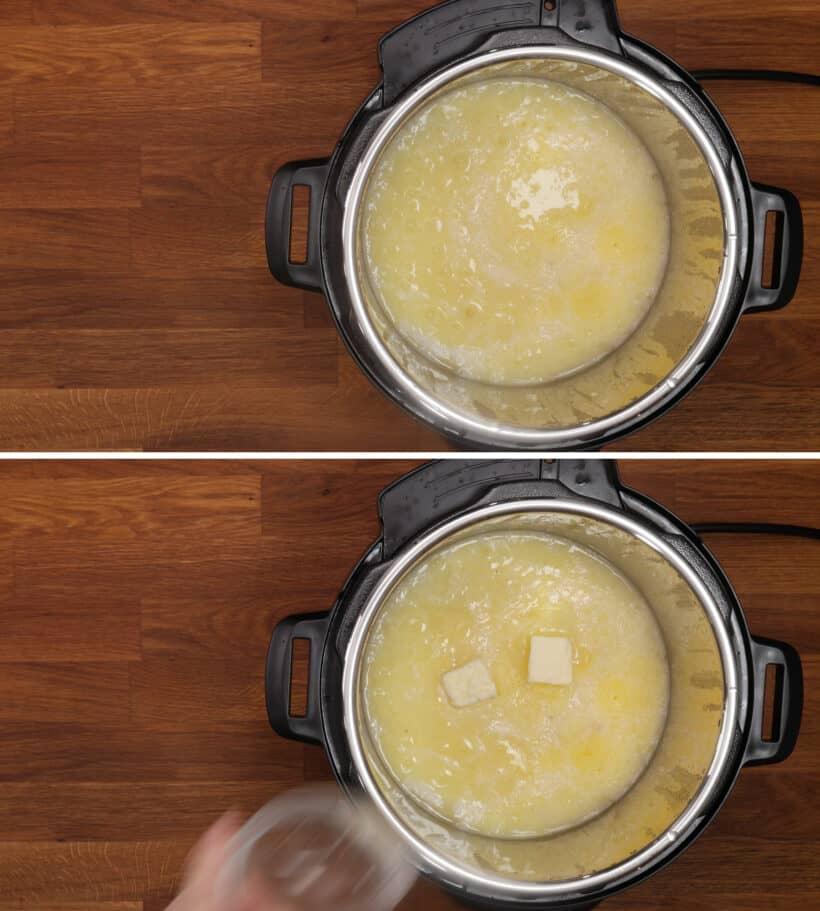 how to make polenta