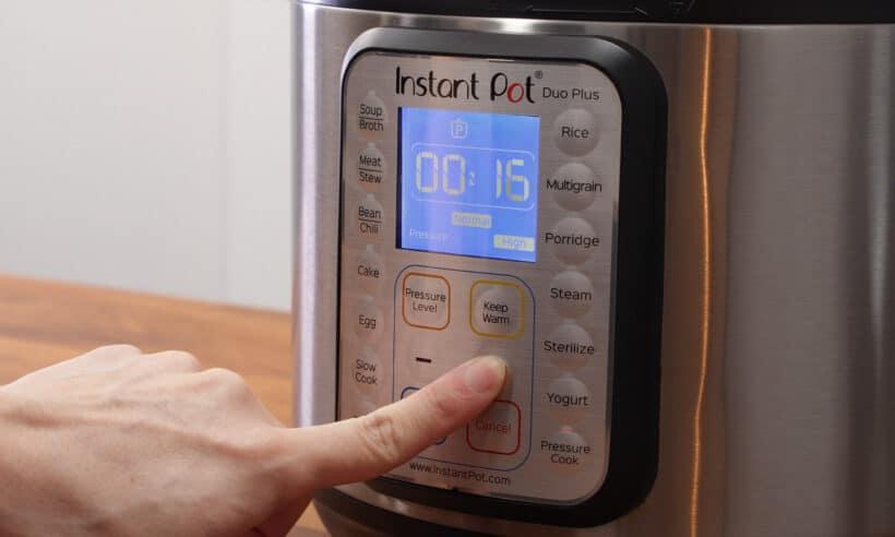 instant pot high pressure 16 minutes