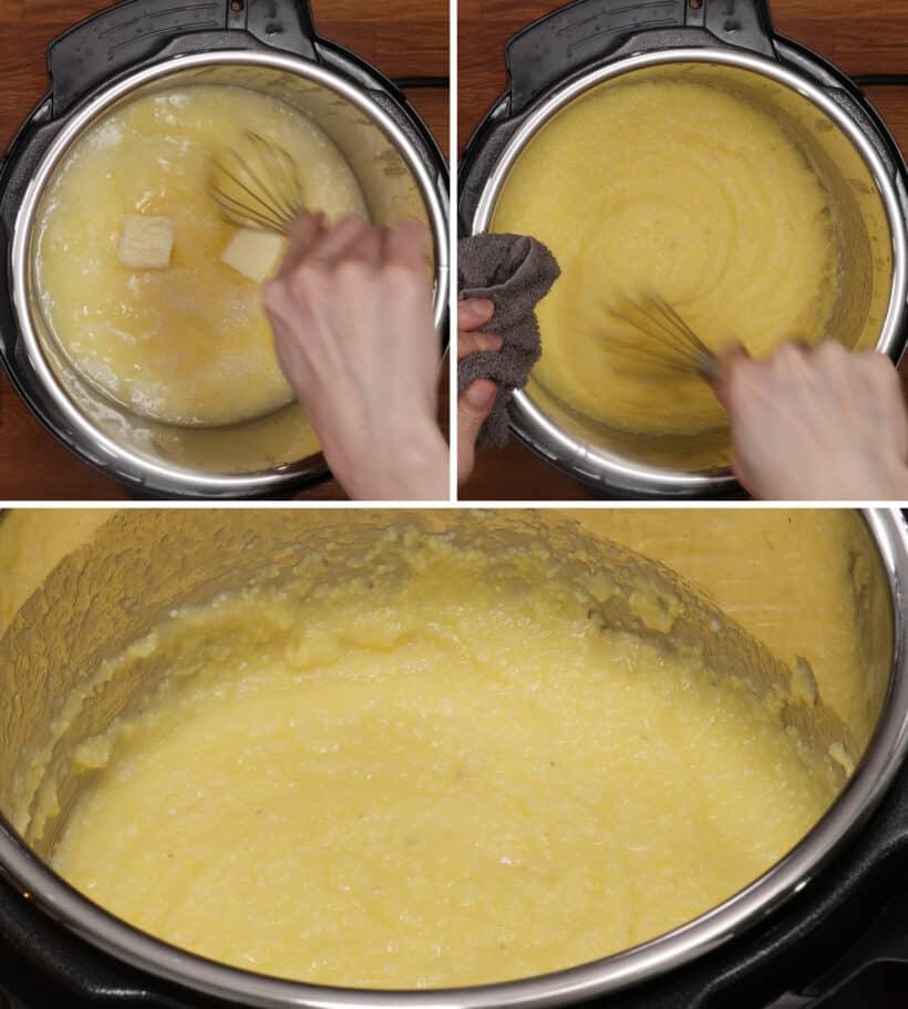 polenta in instant pot