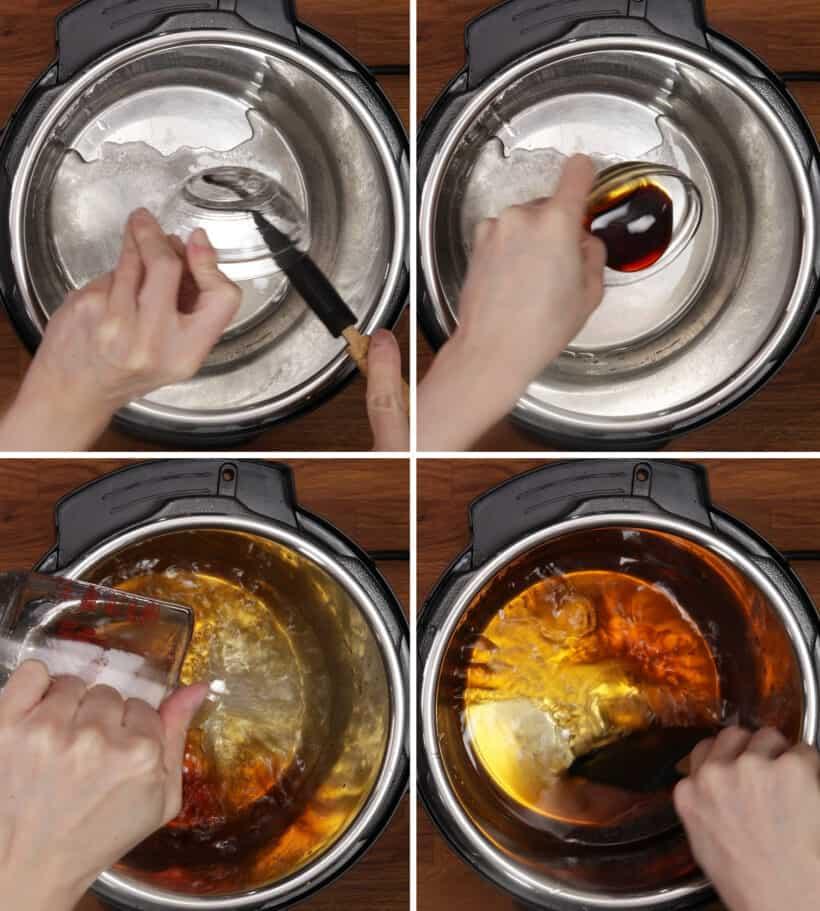 making dashi oden broth