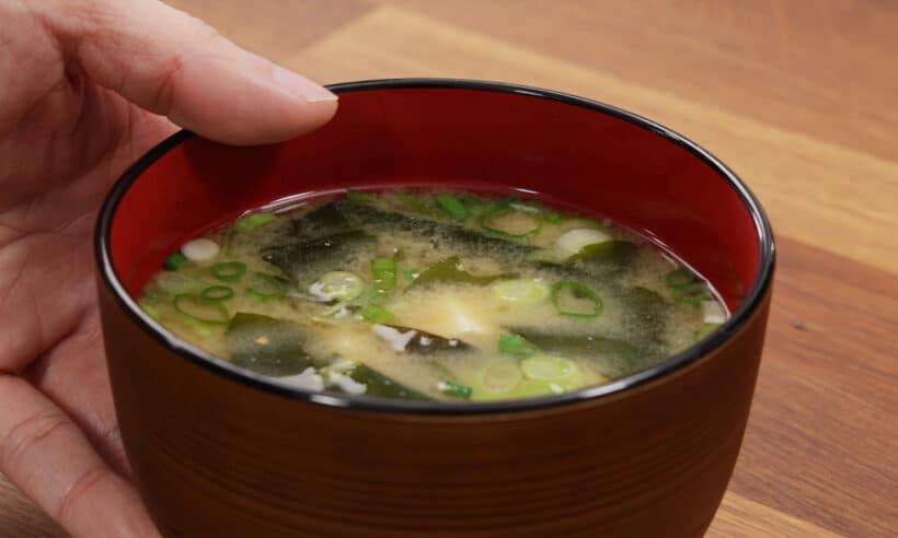homemade miso soup
