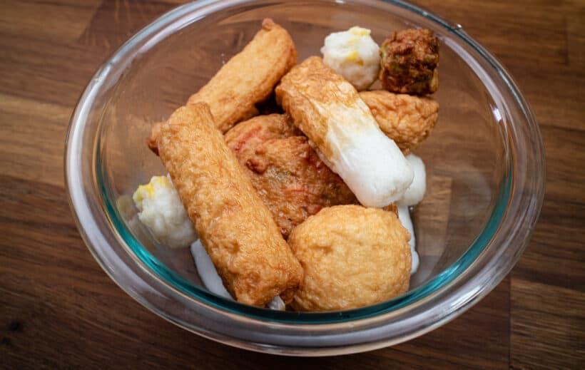 Japanese fish cakes