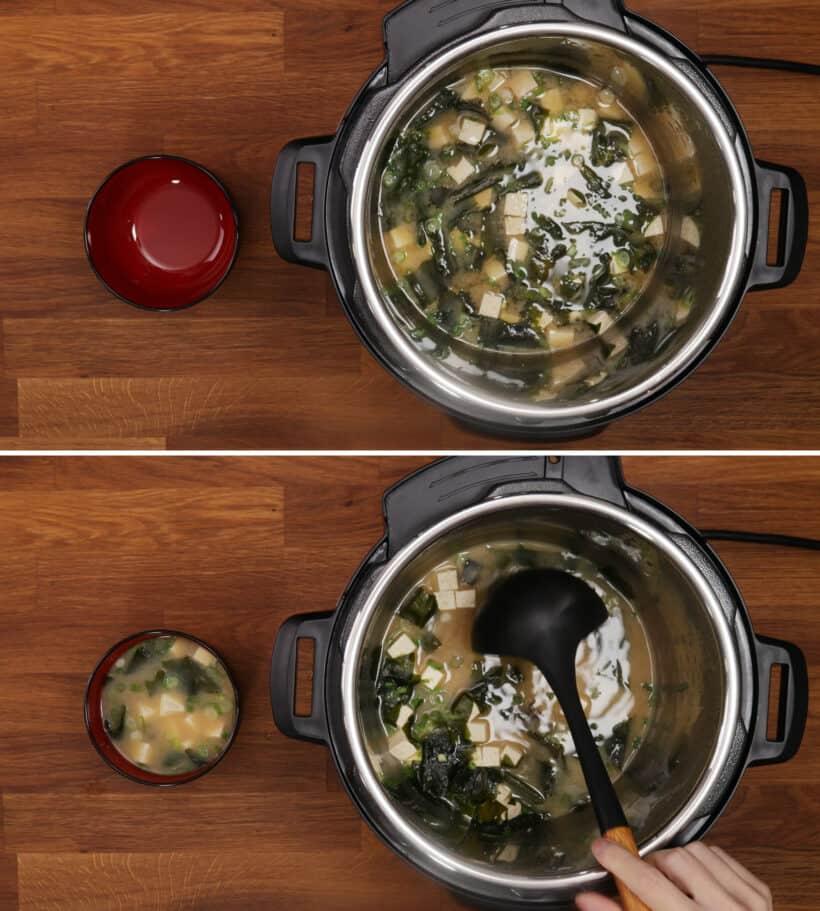 miso soup instant pot