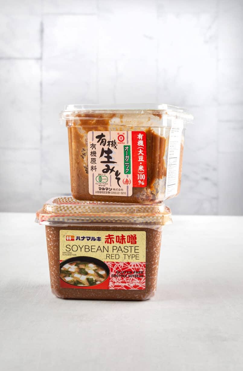 red miso 赤味噌 akamiso
