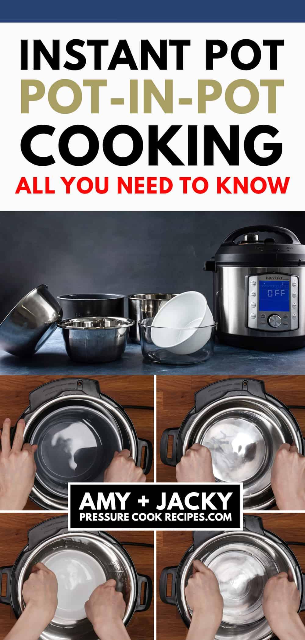 pot in pot instant pot | instant pot pot in pot | pot in pot instant pot recipes | pot in pot cooking