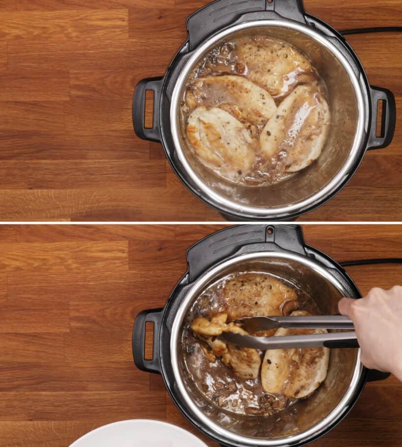 chicken marsala in instant pot