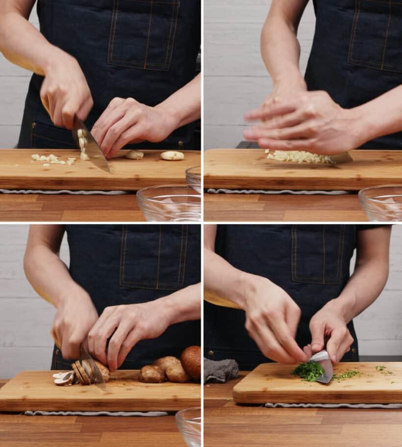 prepare ingredients