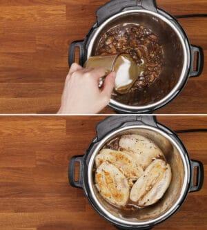 pressure cook chicken marsala