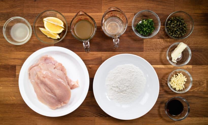 chicken piccata ingredients