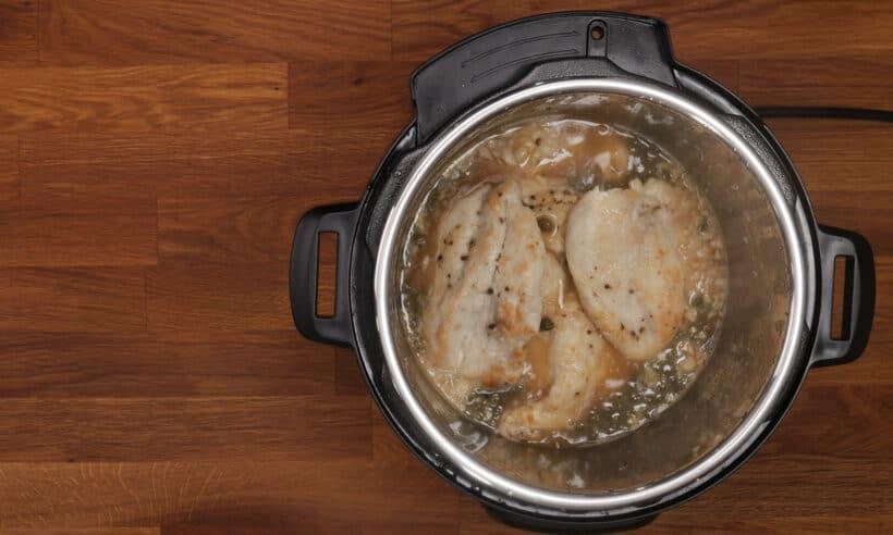 pressure cooker chicken piccata